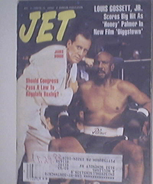 JET 8/31/1992 Louis Gossett,Jr  Boxing cover