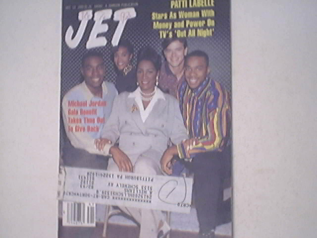 JET 10/12/1992 Michael Jordon,Patti Labelle cover