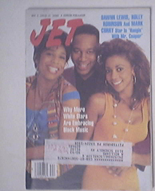 JET 11/2/1992 Dawn Lewis, Holly Robinson Mark Curry cov
