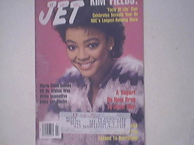 JET 11/25/1985 Maria Gibbs, Kim Fields cover