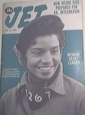 JET 2/19/1959 Woman Rebel Leader GLADYS TRAVA cov
