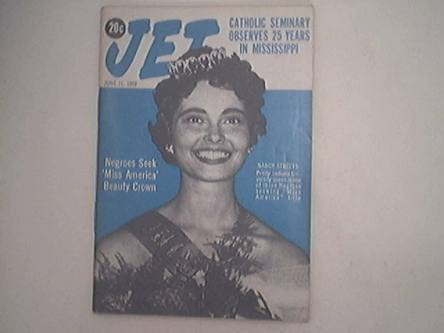 JET 6/11/1959 Miss America Nancy Streets cover