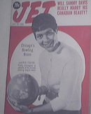 JET 1/28/1960 Sammy Davis Jr, LaDoris Foster Cover