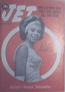 JET 1/16/1964 Jill Beasley Newest Debutant Cover