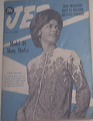 JET 1/23/1964 The Beautiful Lynn Jordan Cover