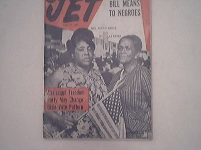 JET 8/27/1964 Mississippi Freedom Party