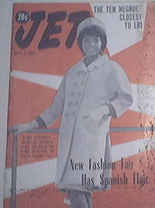JET 9/3/1964 New Fashion Fair Has Spanish Flair