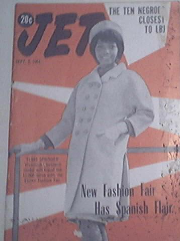 JET 9/3/1964 New Fashion Fair Has Spanish Flair