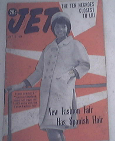 JET 9/3/1964 Fashion Fair Has Spanish Flair