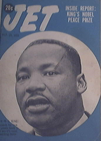 JET 10/29/1964 Rev. Martin Luther King Jr. Cover