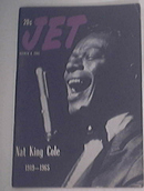 JET 3/4/1965 Nat King Cole 1919-1965 Cover