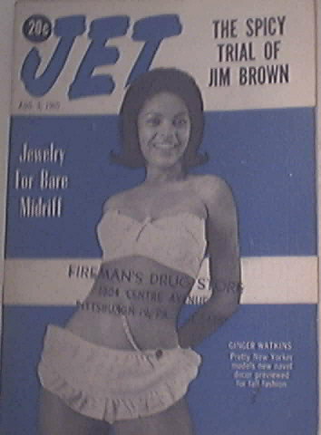 JET 8/5/1965 Spicy Trial of Jim Brown