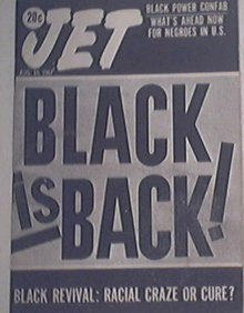 JET 8/10/1967 Black Is Back! Black Power Confab