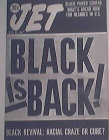 JET 8/10/1967 Black Is Back! Black Power Confab