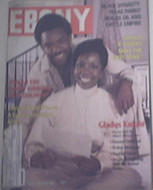 EBONY 11/1982 TIGER WOODS at 6,  GLADYS KNIGHT