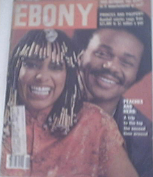 EBONY 6/1979 PEACHES AND HERB COVER