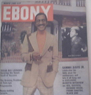 EBONY 3/1980 SUGAR RAY, SAMMY DAVIS JR cover