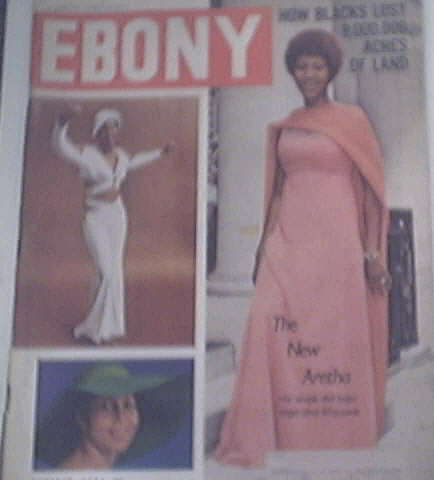 EBONY 10/1974 ARETHA FRANKLIN cover