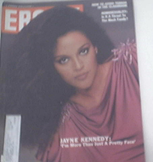 EBONY 4/1981 JAYNE KENNEDY cover
