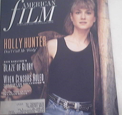 American Film 12/1989 Holly Hunter Cover