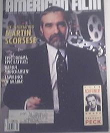 American Film 3/1989 MARTIN SCORSESE Cover