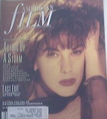 American Film 5/1990 ELIZABETH PERKINS Cover