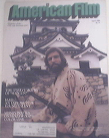 American Film 4/1980 RICHARD CHAMBERLAIN cover