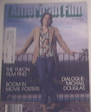 American Film July-Aug 1979 MICHAEL DOUGLAS cover