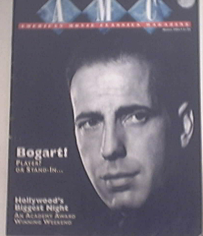 American Movie Classic Magazine 3/1994 BOGART cover
