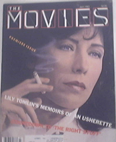 The Movies Mag 7/1983 Premiere Issue LILY TOMLIN covr