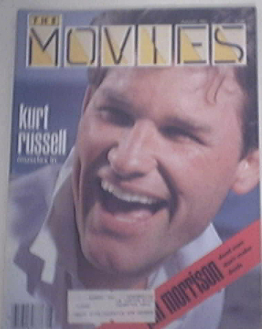 The Movies Mag 8/1983 KURT RUSSELL cover JIM MORRISON