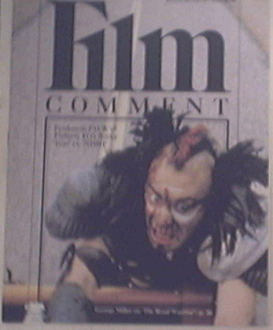 Film Comment July-Aug 1982 GREAT The Road Worrior cov
