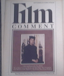 Film Comment Sept-Oct 1981 MERYL STREEP cover