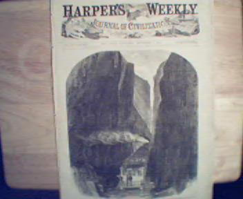 HarpersWeekly-11/7/1863 Gamblers,Bristoe St.,New Inlet!