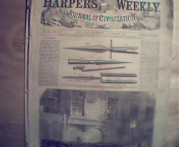 HarpersWeekly-10/28/1865 Fenians,Colored Troops,Dexter!