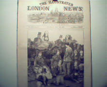 Illustrated London News-7/20/1872 Polo,Wimbledon, Queen