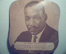 Church Fan with Picture of Dr. Martin Luther King Jr.