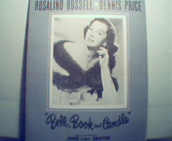Bell,Book and Candle with Rosalind Russell! c1950s!