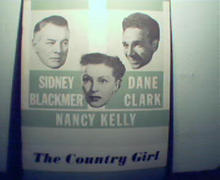 Country Girl-S.Blackmer,Nancy Kelly,Dane Clark c1940!