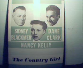 Country Girl-S.Blackmer,Nancy Kelly,Dane Clark c1940!