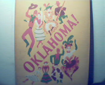 Oklahoma! with  Florence Henderson! c1940s!