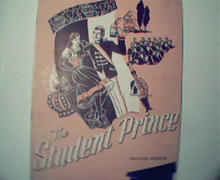The Student Prince!  from the 1940s!  Great Photos!