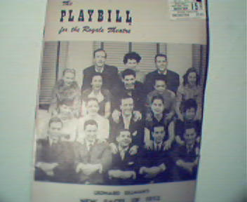 Playbill Magazine-Sillmans 1952 New Faces-Eartha Kitt!
