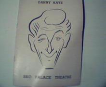RKO Palace Theatre=Danny Kaye! 1940s!