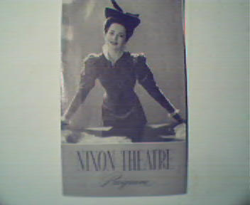 Olivia DeHavilland in Candida! 1952! at Nixon Theatre