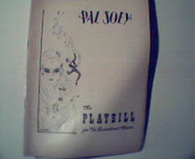 Pal Joey- Vivienne Segal/Harold Lange c1952! Playbill!