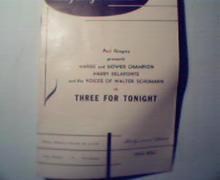 May Beegle Series-Harry Belafonte! Three For Tonight 55