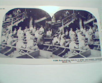 1970 Repro Stereo View Cards 1800-1900s- Boys in Mine!