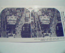 1970 Repro Stereo View Cards 1800-1900s- New York City!