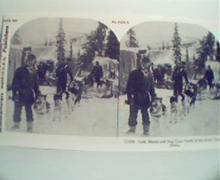 1970 Repro Cards 1800-1900s- Gold Miners in Alaska!